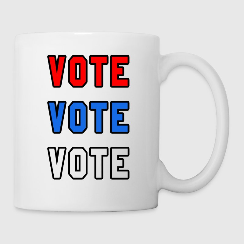 Cofffe/Tea Mug  Vote Vote Vote - Coffee/Tea Mug