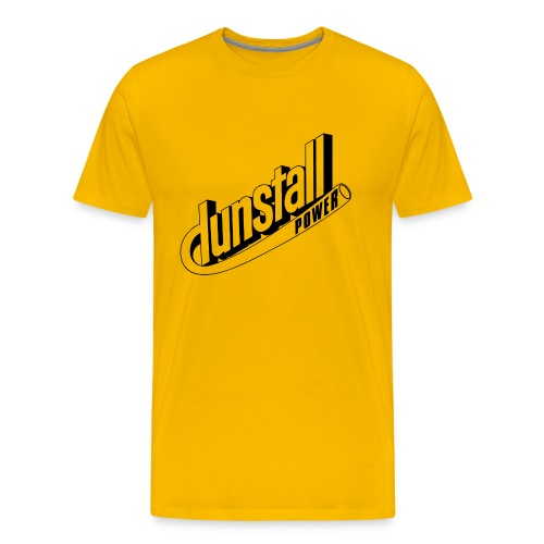 Dunstall Norton cafe racer motorcycle - Men's Premium T-Shirt