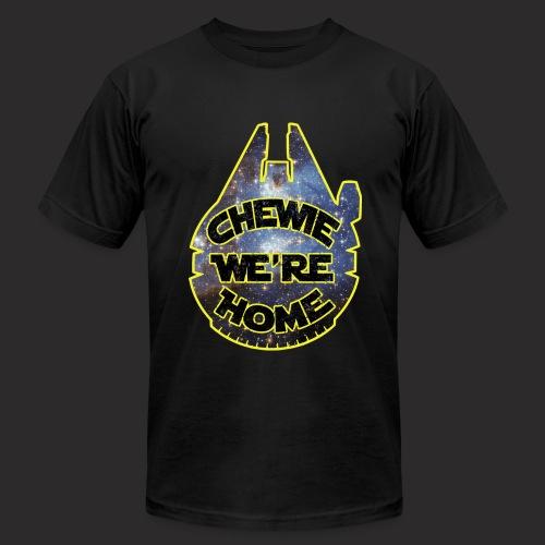 Chewie, we're home-mfalcon - Men's  Jersey T-Shirt