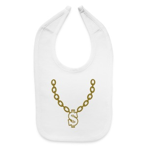 MONEY CHAIN BABY BIB - Baby Bib