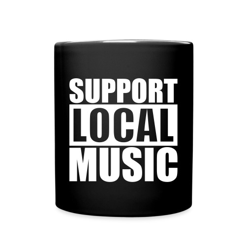 SUPPORT LOCAL MUSIC MUG - Full Color Mug