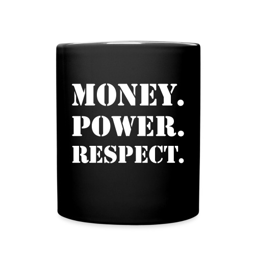 MONEY POWER RESPECT MUG - Full Color Mug