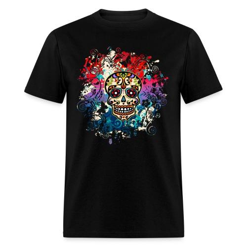 Rainbow Skull - Men's T-Shirt