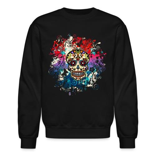 Rainbow Skull - Crewneck Sweatshirt