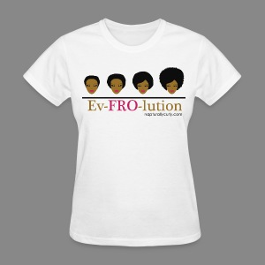 Ev-FRO-lution - Women's T-Shirt