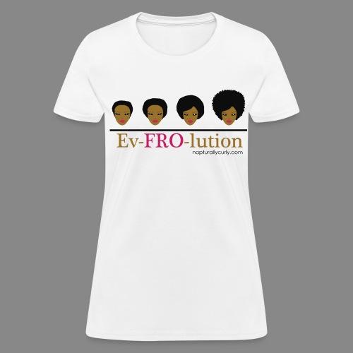 Ev-FRO-lution - Women's T-Shirt