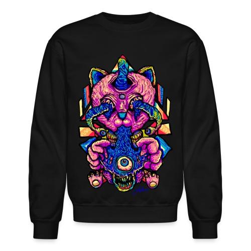 Trippy Cat - Crewneck Sweatshirt