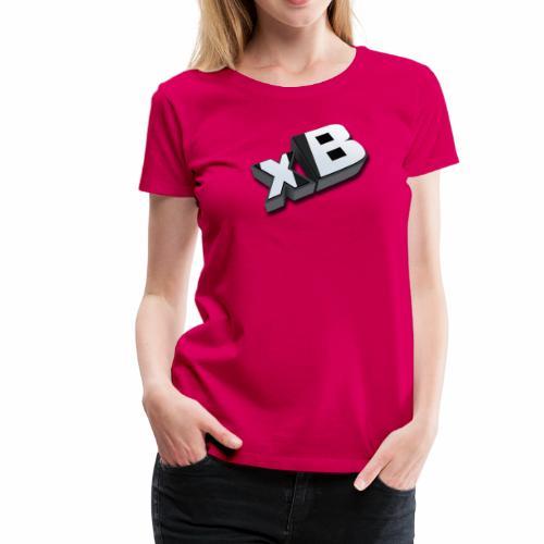 xB 3D (Women's Tee) - Women's Premium T-Shirt