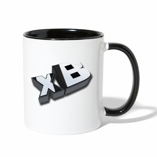 xB 3D (Contrast Coffee Cup) - Contrast Coffee Mug