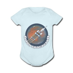 Orion Spacecraft - Short Sleeve Baby Bodysuit