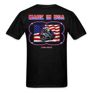 Men's Standard T Wg Made in USA (Back) - Men's T-Shirt