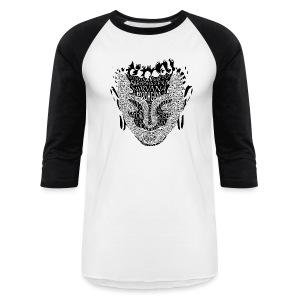 The Buddha 3/4 - Baseball T-Shirt