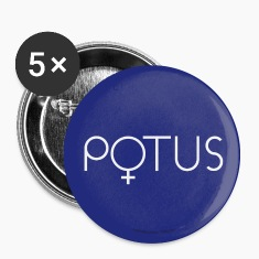 POTUS button Hillary 2016 first female President