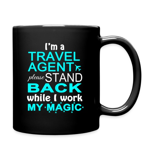 Travel Agents Work Magic! - Full Color Mug