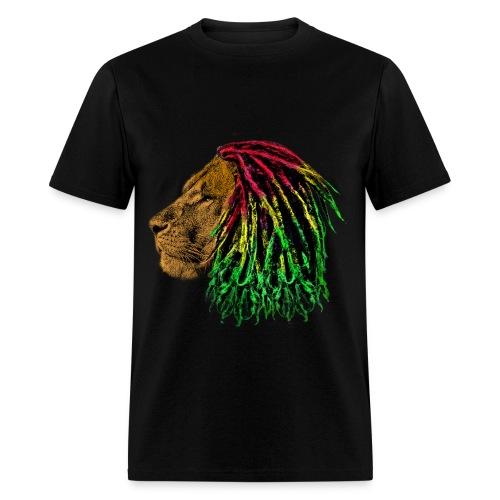 Rasta lion - Men's T-Shirt