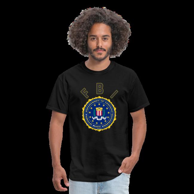 Men's Standard T Front- FBI