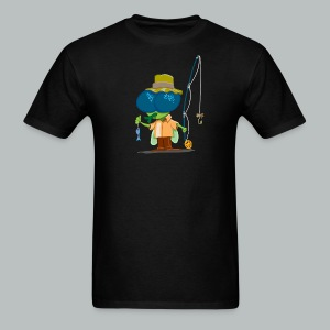 Fly Fisherman Rampant - Men's T-Shirt
