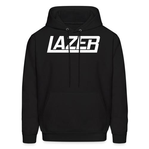 Lazer White Logo Hoodie - Men's Hoodie