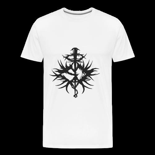 Seraphim Defloration B/W Emblem T Shirt - Men's Premium T-Shirt