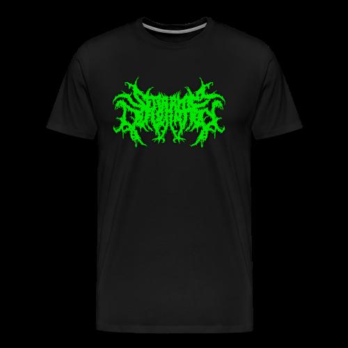Seraphim Defloration Green Logo T Shirt - Men's Premium T-Shirt
