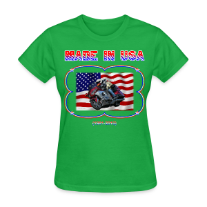 Women's Standard T Wg Made in USA (Front) - T-shirt pour femmes