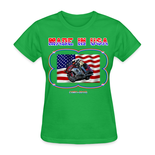 Women's Standard T Wg Made in USA (Front) - Women's T-Shirt