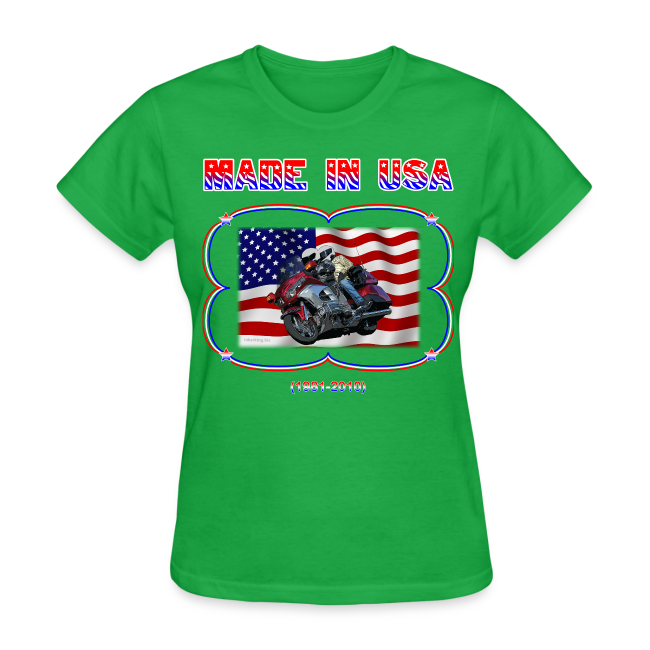 Women's Standard T Wg Made in USA (Front)