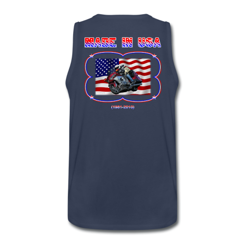 Men's Premium Tank (Back) Wg Made in USA - Men's Premium Tank