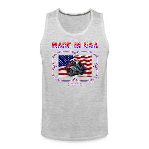 Men's Premium Tank (Front) Wg Made in USA - Men's Premium Tank