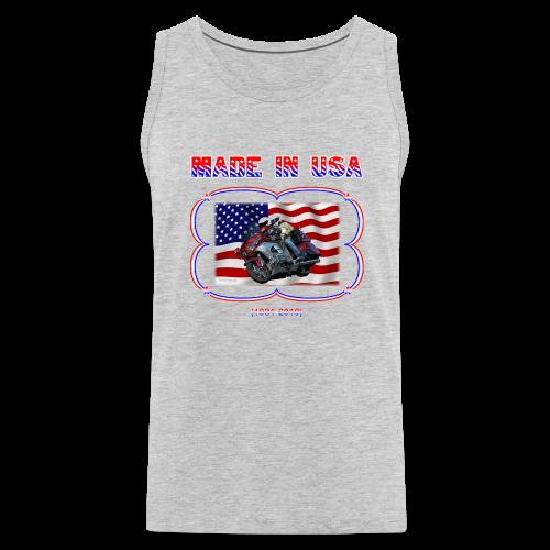 Men's Premium Tank (Front) Wg Made in USA - Men's Premium Tank