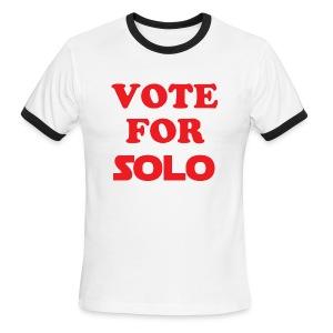 VOTE FOR SOLO - Men's Ringer T-Shirt