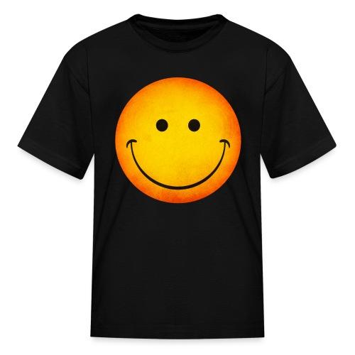 Smiling Emoji Kid's T-Shirt - Kids' T-Shirt
