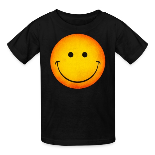 Smiling Emoji Kid's T-Shirt - Kids' T-Shirt