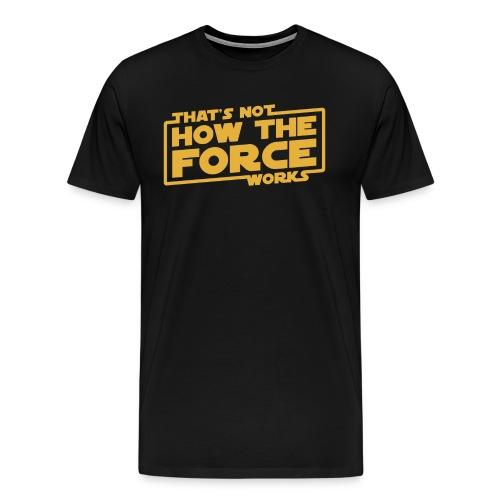 Han's Last Words - Men's Premium T-Shirt