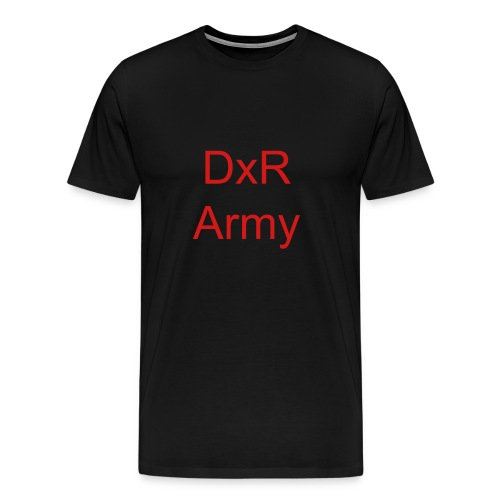 DxR Army Shirt - Men's Premium T-Shirt