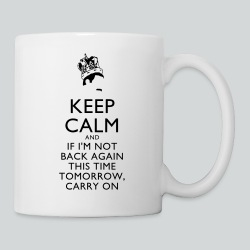 Freddy Mercury Keep Calm - Coffee/Tea Mug