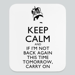 Freddy Mercury Keep Calm - Mouse pad Vertical