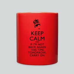 Freddy Mercury Keep Calm - Full Color Mug