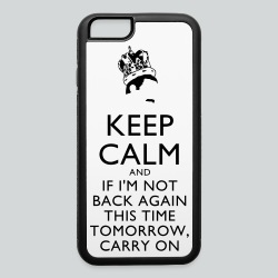 Freddy Mercury Keep Calm - iPhone 6/6s Rubber Case