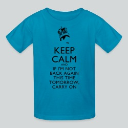 Freddy Mercury Keep Calm - Kids' T-Shirt