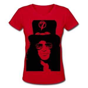 The Hat - Women's V-Neck T-Shirt