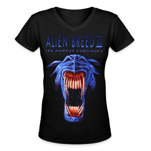 Alien Breed 2 - Women's V-Neck T-Shirt