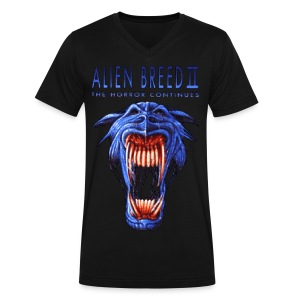 Alien Breed 2 - Men's V-Neck T-Shirt by Canvas