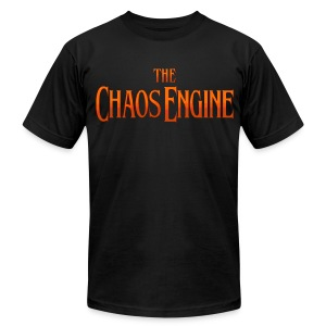Chaos Engine - Men's T-Shirt by American Apparel