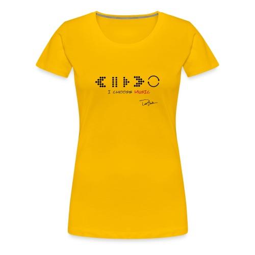 Womens' Pause & Play Tee  - Women's Premium T-Shirt