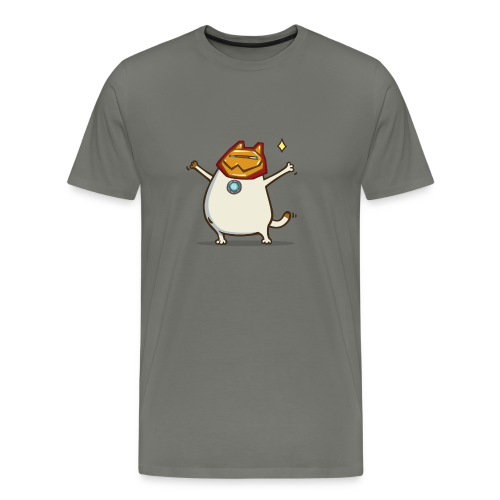 Iron Cat - Men's T-Shirt - Men's Premium T-Shirt
