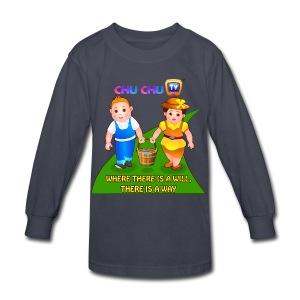 Motivational Quotes 8 - Kids' Long Sleeve T-Shirt