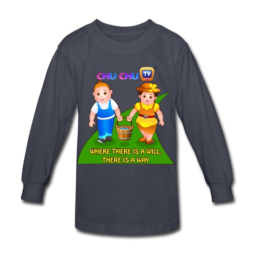 Motivational Quotes 8 - Kids' Long Sleeve T-Shirt