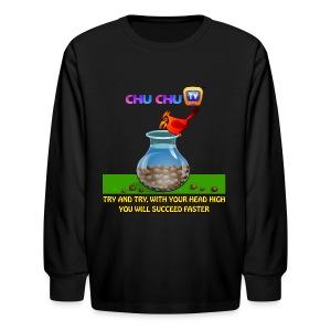 Motivational Quotes 11 - Kids' Long Sleeve T-Shirt