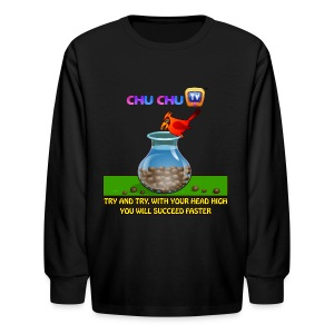 Motivational Quotes 11 - Kids' Long Sleeve T-Shirt